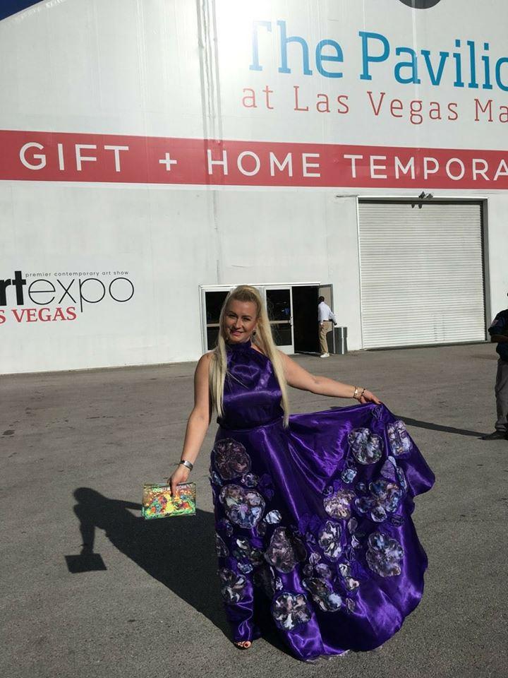 776d2c2d02e Когда проходила выставка моих работ в Лас-Вегасе